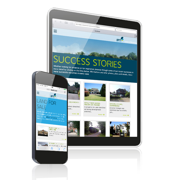 Aston Mead Land and Planning - Branding and responsive website design