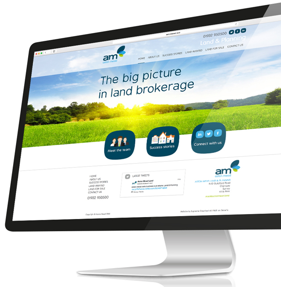 Aston Mead Land and Planning - Branding and website design and build