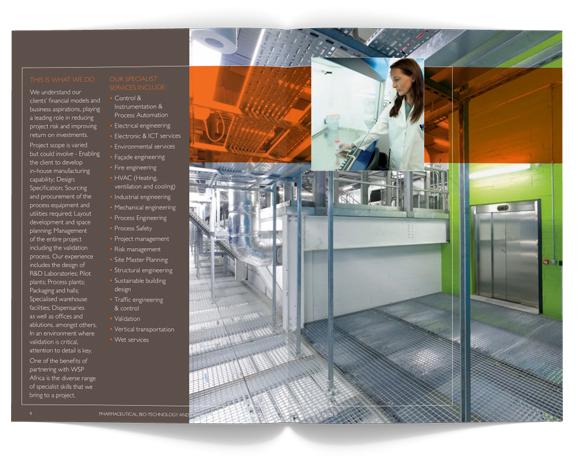 WSP Africa Brochures - layout