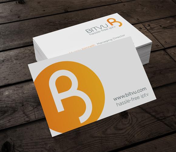 Bitvu Branding - business cards