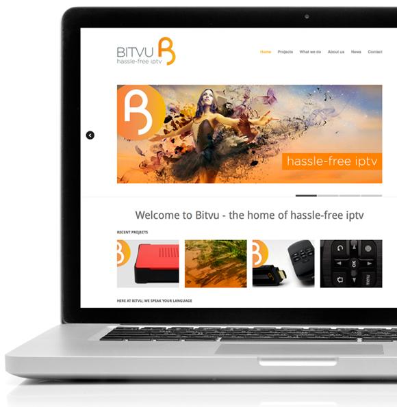 Bitvu Branding - website design and build