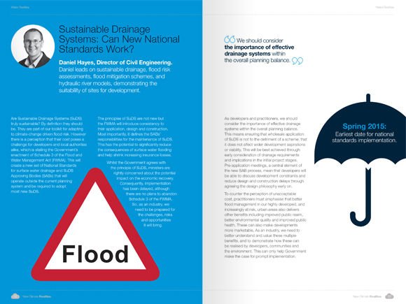 PBA Climate Change Campaign - flooding visuals layout