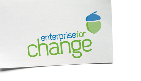 Enterprise for Change branding and website