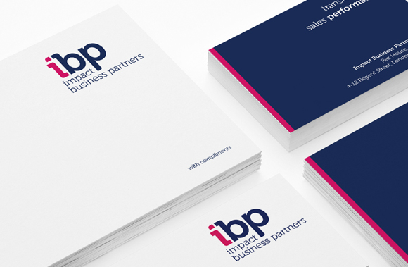 Impact Business Partners - new branding, messaging, marketing support materials, workshop training literature