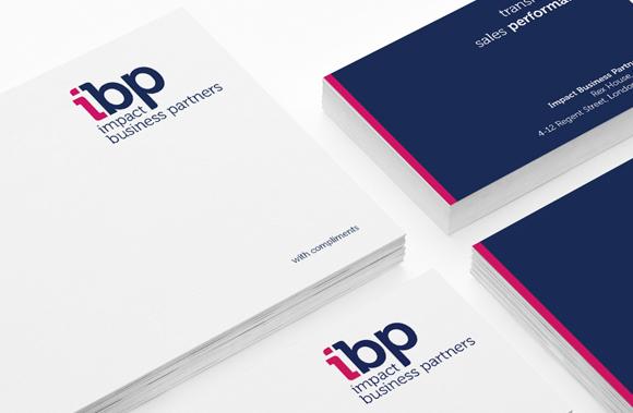 Impact Business Partners - new branding, messaging, marketing support materials, workshop training literature