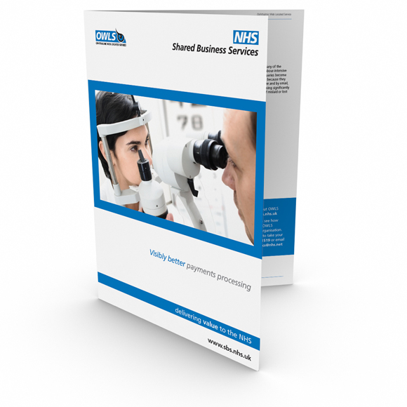 NHS SBS branding and collateral