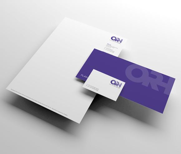 ORH Rebrand - brand stationary