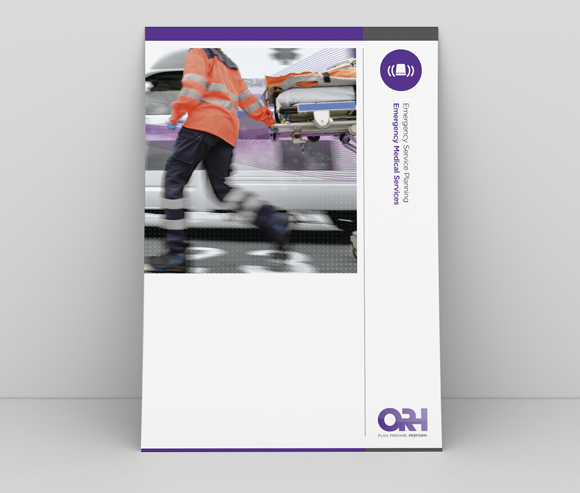 ORH Rebrand - print and digital documents