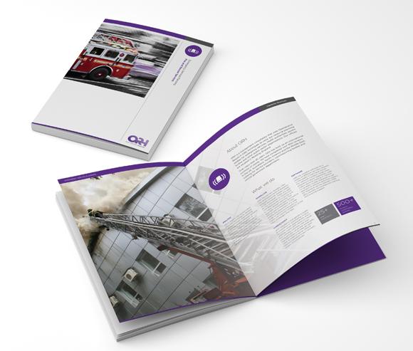 ORH Rebrand - new brochure design and printing