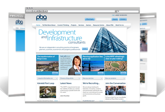 Peter Brett Associates website