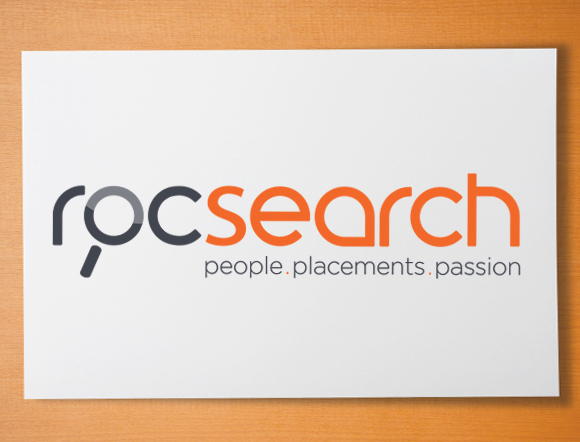 Roc Search Brand Development - logo design and brand message