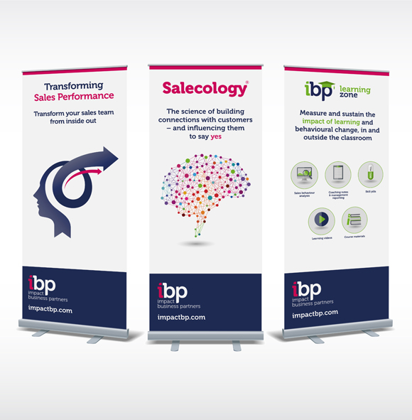 Salecology® from Impact Business Partners - branding and expo graphics