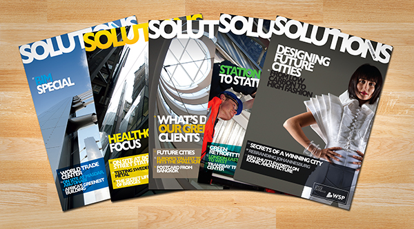 WSP Solutions magazine
