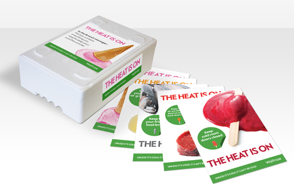 Waitrose – The Heat Is On! - coolbox and leaflet pack