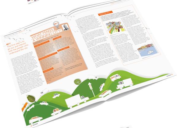 WSP Solutions Magazine November 2012 - magazine layout