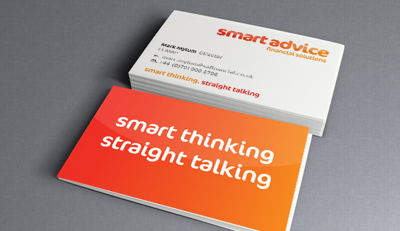 Smart Advice Financial Solutions branding and website