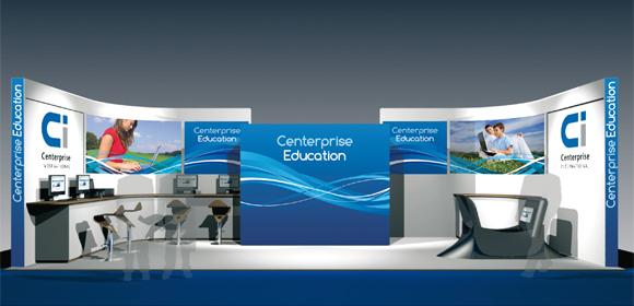 Centerprise exhibition stand