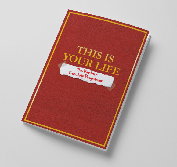 John Lewis Partnership - Partner Coaching Programme souvenir book cover