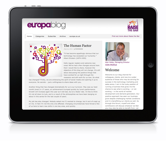 Europa Blog