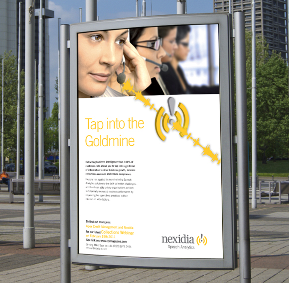 Nexidia advertising campaign