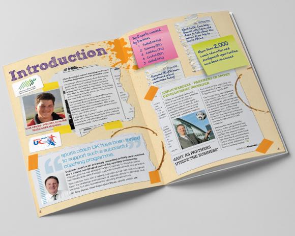 John Lewis Partnership - Partner Coaching Programme souvenir book design