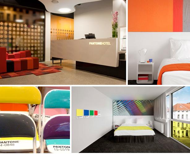 Pantone hotel creative graphic design and marketing for A t design decoration co ltd