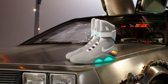Marty McFly's Auto-Lacing Trainers