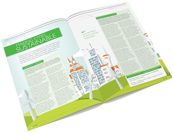 WSP Solutions Magazine November 2012 - print layout