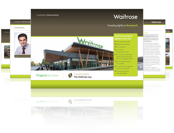 Waitrose values programme literature