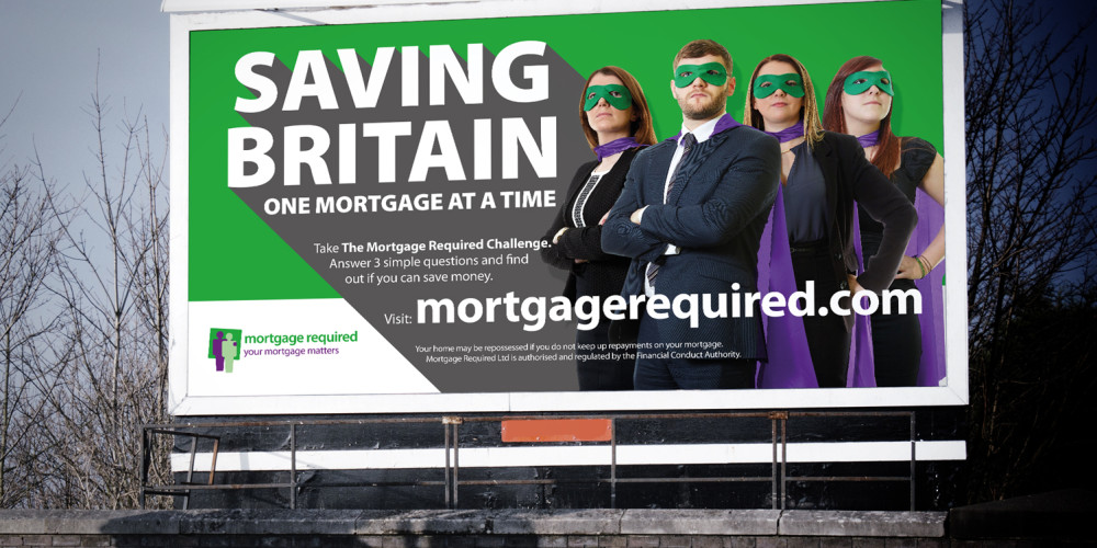 Mortgage Required advertising campaign