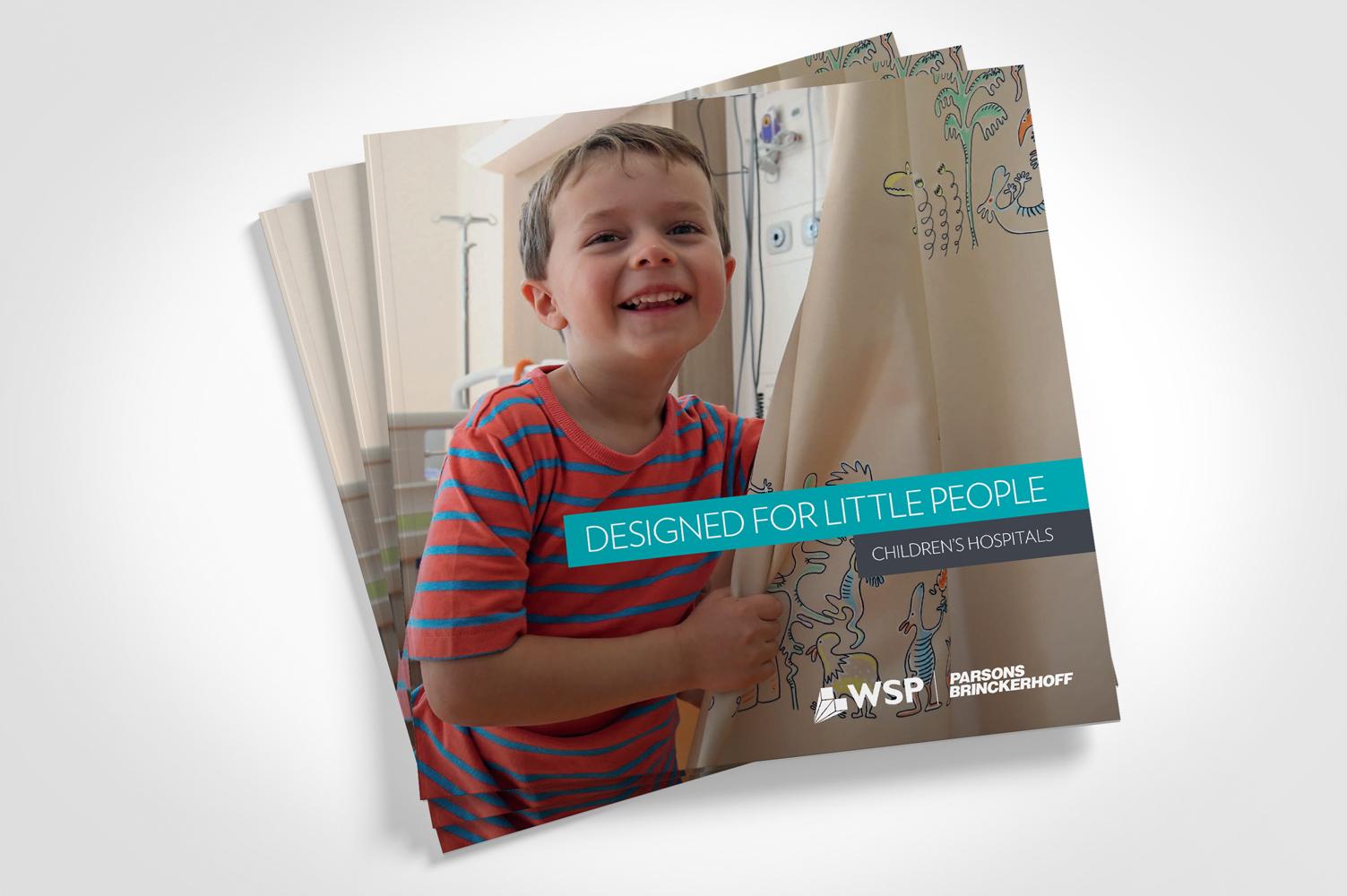 WSP | Parsons Brinckerhoff children's hospital brochure