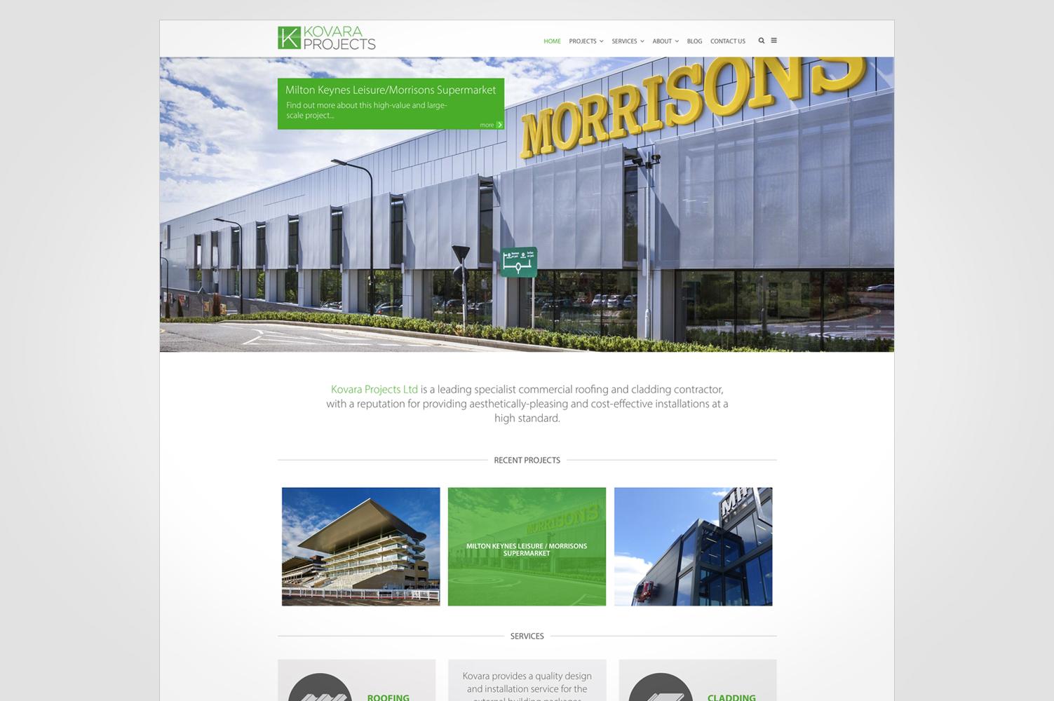 Kovara Projects Marketing Materials Creative Graphic