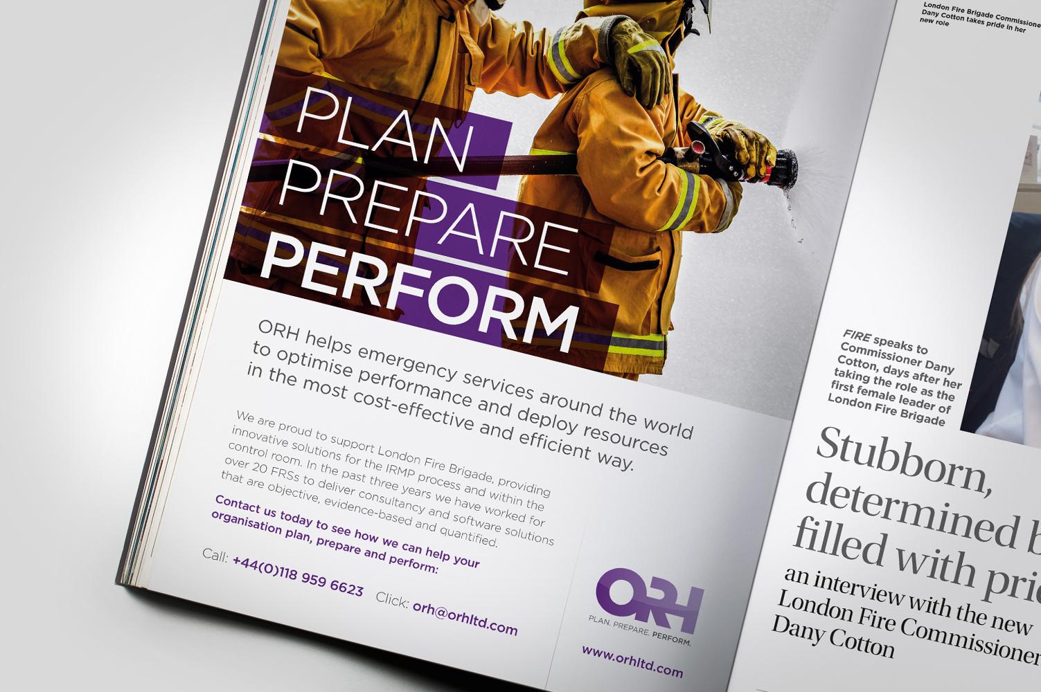 ORH ad campaign