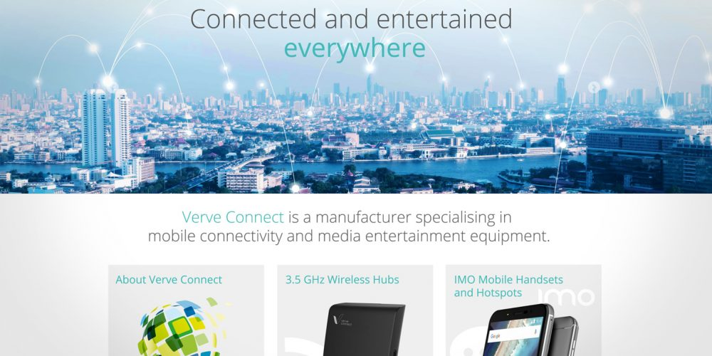 Verve Connect Website
