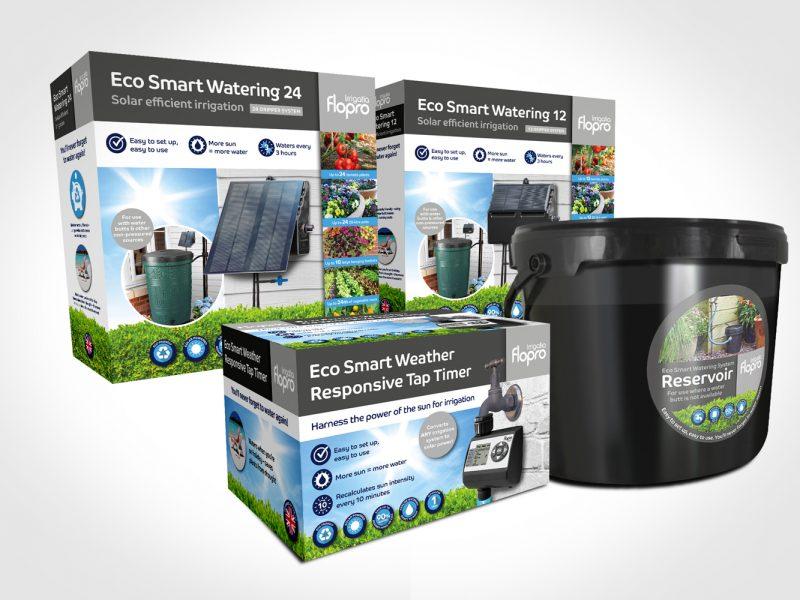 Flopro Irrigatia Range product packaging