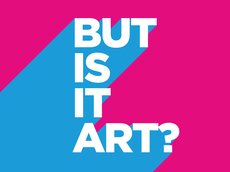 But Is It Art? branding