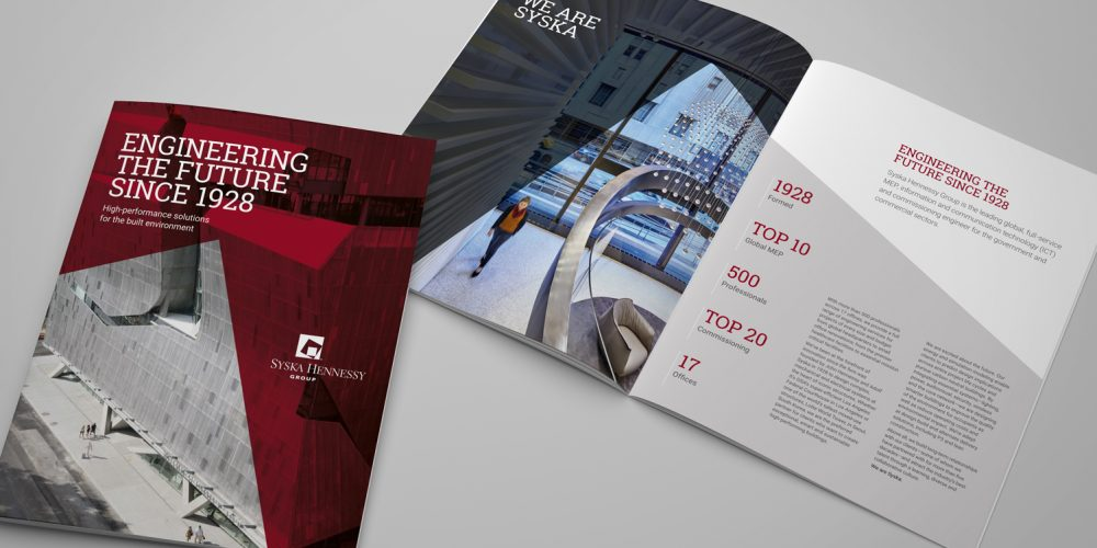 Syska Hennessy Group collateral rebrand