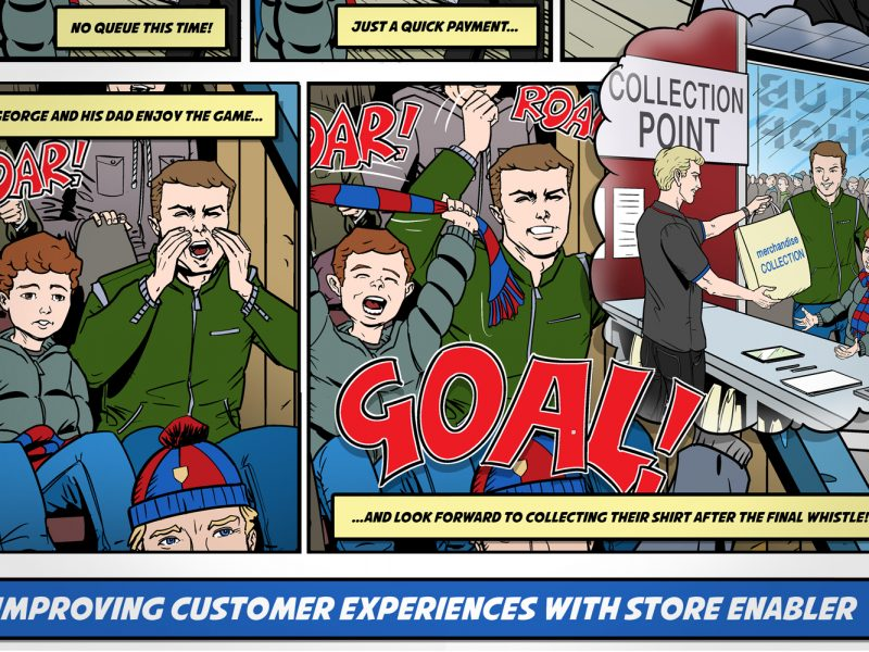 PMC Store Enabler animation campaign