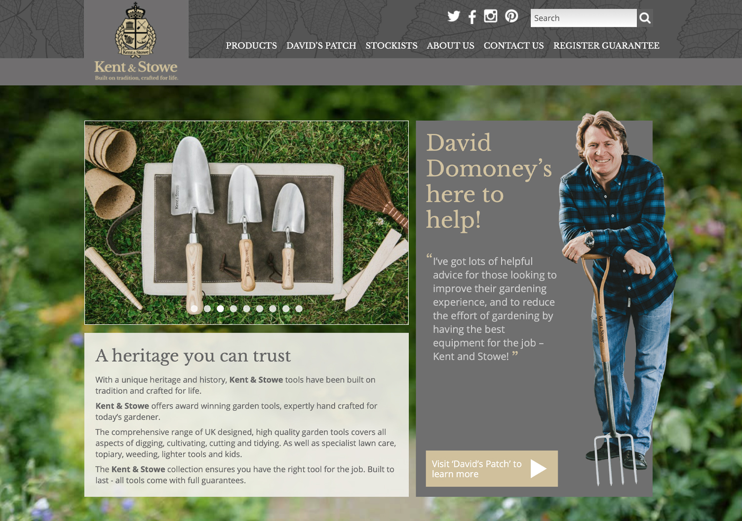 Kent & Stowe website