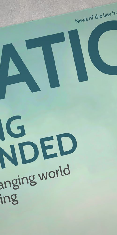Citation magazine for Clifton Ingram Solicitors