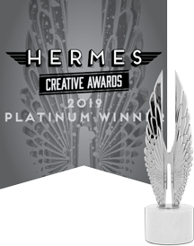 Supreme Creative are Hermes Creative Awards 2019 Platinum Winners