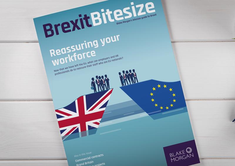 Blake Morgan 'Brexit Bitesize' magazine