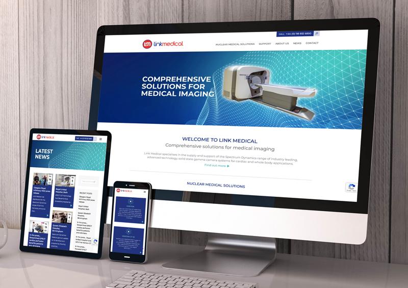 Link Medical website