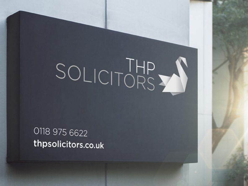 THP Solicitors brand identity and website